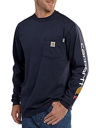 2631cd92138a Carhartt Work in Progress Mens Big   Tall Flame Resistant Force Cotton  Graphic Long Sleeve T