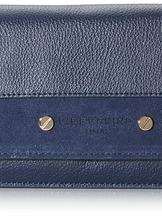 Liebeskind Mix N´Match - Slam Wallet Large Womens Wallet, Blue (Mood Indigo), 4x11x19 centimeters (B x H x T)