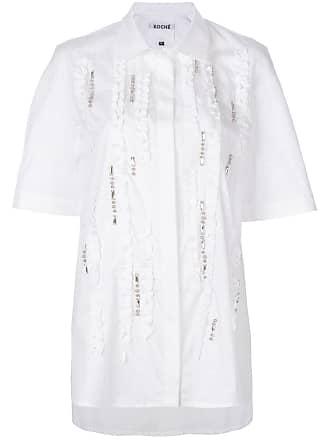 Koché embroidered blouse - Branco