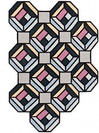 GAN Rugs Teppich Parquet Tetragons