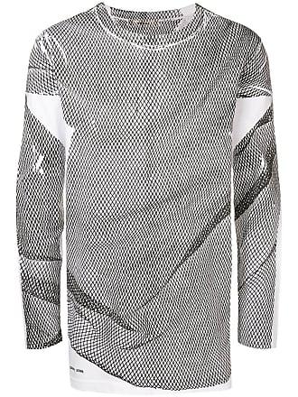 Damir Doma Suéter de tricô com mesh - Branco