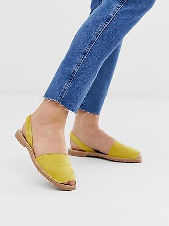 137c590e7e88 £58.00. Solillas. Exclusive leopard print leather menorcan sandals.  Delivery: free. Solillas yellow leather menorcan sandals