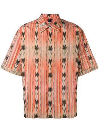 Qasimi printed shirt - Orange