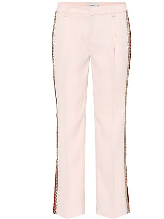 Coach Striped cropped trousers