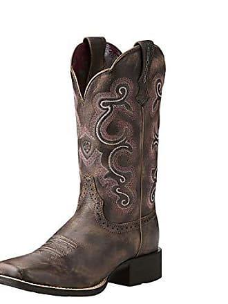 Ariat Frauen Quickdraw Western Western Schuhe, 39 W EU, Tack Room Chocolate 8a327b07b6