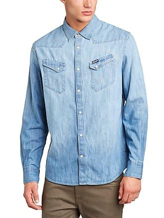 099b6651083 Wrangler Mens Western Long Sleeve Classic Regular Fit Shirt