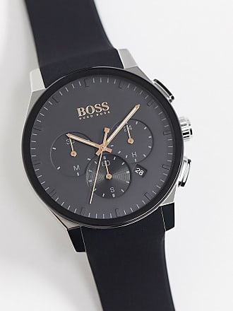 BOSS black silicone watch 1513759