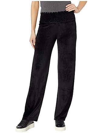 d31894460fc5e Hard Tail Smocked Waist Pants (Black) Womens Casual Pants
