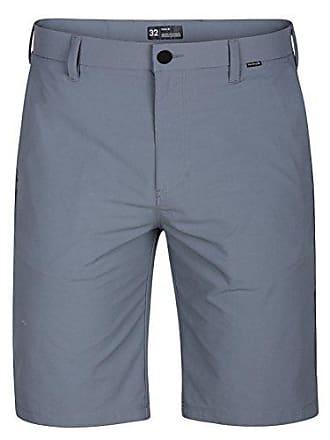 Hurley Mens Dri-Fit Chino 22 Walk Short, Cool Grey, 33