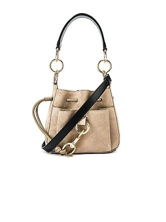 See By Chloé Mini Tony Bucket Bag in Gray