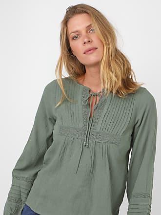 Vero Moda Blusa Vero Moda Renda Verde