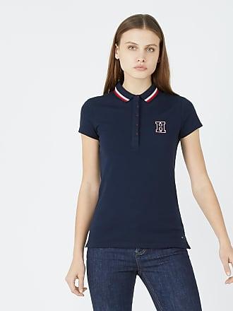 Tommy Hilfiger Polo slim fit coton manches courtes Bleu Tommy Hilfiger 3da906b07845