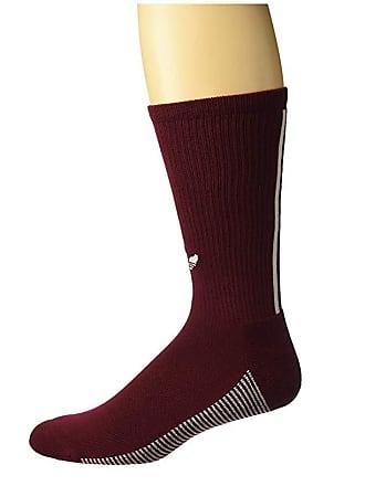 6107a7553 adidas Originals Originals 3-Stripe Statement Single Crew Sock (Collegiate  Burgundy/White)