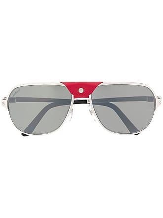 873c82fbfcda7 Cartier Santos de Cartier sunglasses - Silver