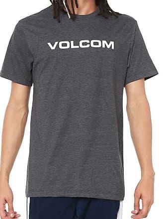 Volcom Camiseta Volcom Silk Crisp Euro Preto Mescla