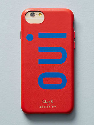 Casetify Clare V. x Casetify Oui Leather iPhone Case