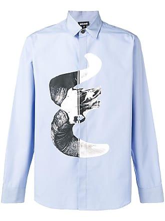 Just Cavalli Camisa com estampa - Azul