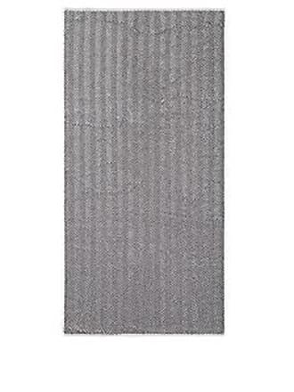 Barneys New York Fume Herringbone Cotton Bath Towel - Ivorybone