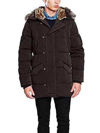 f2f001c3b03f Pepe Jeans London Woodlander Manteau Homme Bleu (Blue Black) Small (Taille  Fabricant