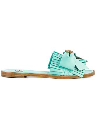 FAUSTO PUGLISI Slide com laço - Azul
