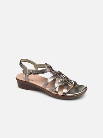 10aaeeb56d Clarks LOOMIS KATEY - Sandalen für Damen / silber