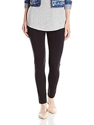 Joan Vass Womens Seamed Legging, Black, 3