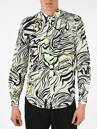 Just Cavalli Spread Collar Printed Shirt size 44