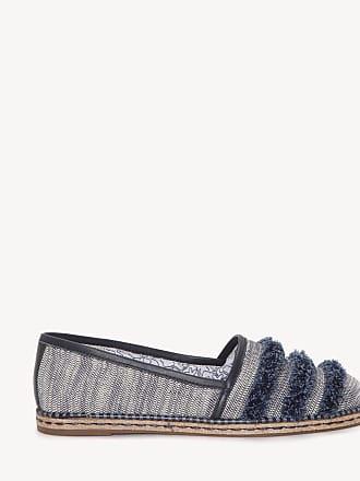 Ed Ellen Degeneres Womens Nolana Slip On Flats Lagoon Multi Size 9.5 Textile Leather From Sole Society