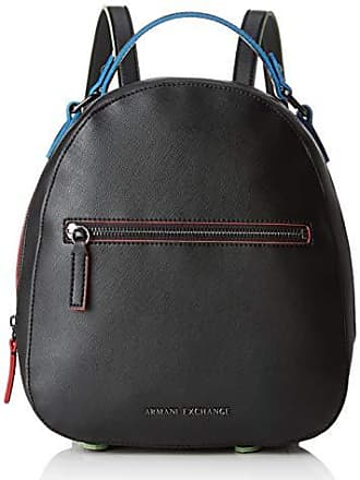 c49d0b12e2 Armani Zip Backpack - Zaini Donna, Nero (Black), 26.5x8.3000000000000007x24