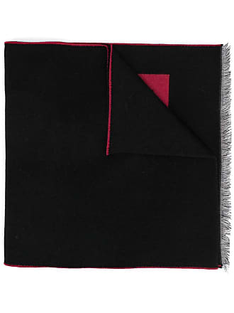 Givenchy wide logo scarf - Preto