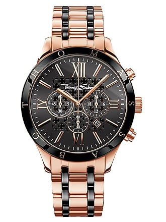 Thomas Sabo Thomas Sabo Mens Watch black WA0187-267-203-43 MM