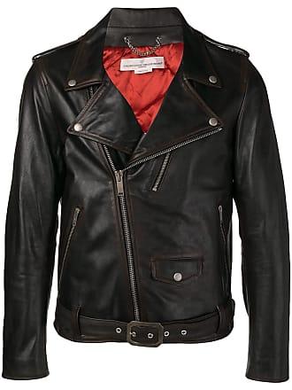 Golden Goose classic biker jacket - Marrom