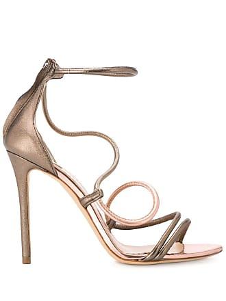 The Seller wavy strap sandals - Cinza