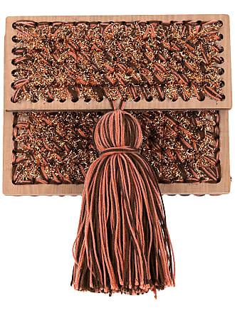 0711 Katerina Copacabana clutch - Brown