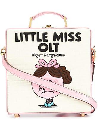 Olympia Le-Tan Bolsa tote Little Miss Olt de couro - Rosa