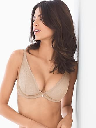 Soma Amorous Plunge Bra, Soft Tan, Size 32A