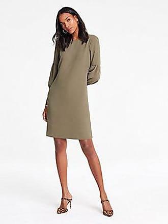 ANN TAYLOR Lantern Sleeve Shift Dress