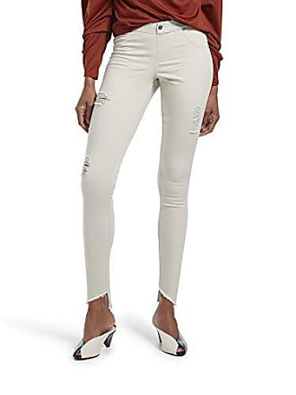 Hue Womens Plus Size Angled Hem Denim Skimmer Leggings (Stonewash - Solid, 2X)