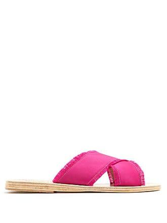 en Thais Greek satin Sandals Claquettes Ancient 80OXPkwn