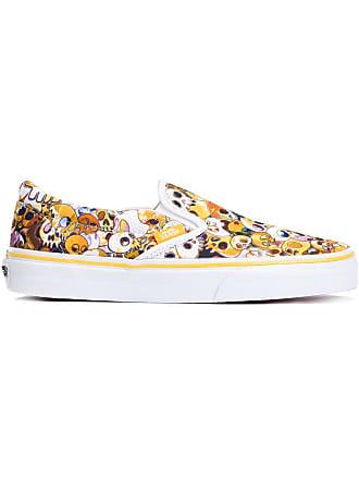 394144f111 Vans Vault by Vans x Takashi Murakami skull slip-on sneakers - Yellow