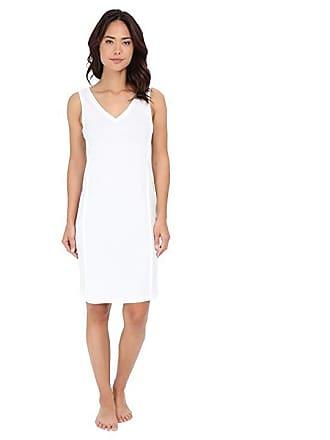 62b00ad35d Hanro Pure Essence Tank Gown (Off-White) Womens Pajama