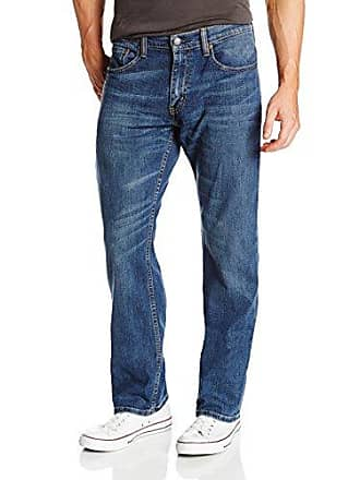 Levi's Mens 559 Relaxed Straight Fit Jean - 38W x 32L - Steely Blue - Stretch