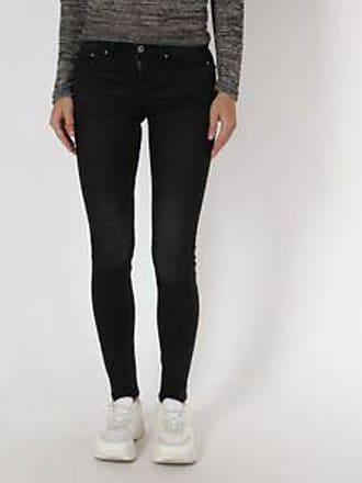 Springfield Jeans con Diseño Liso<br>Skinny Fit<br>Negro
