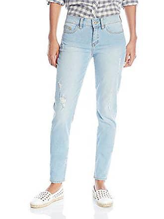 Yummie Tummie Modern Mid Rise Slimming Skinny Denim Jeans, Sun Bleached, 33