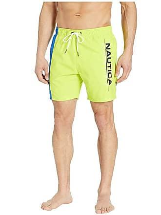 7563865de4 Nautica Competition Swim Trunks (Tropical Lime) Mens Swimwear