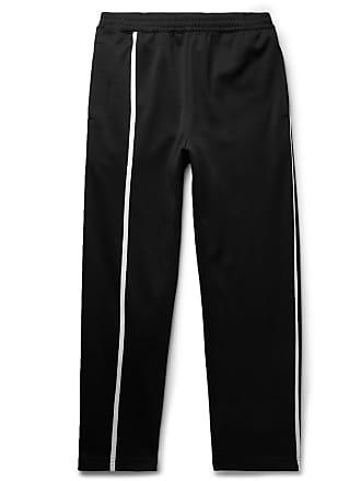 Helmut Lang Striped Tech-jersey Sweatpants - Black