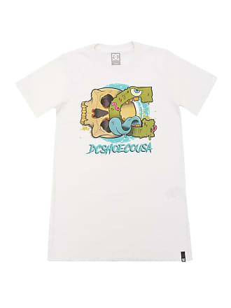 DC Camiseta DC Shoes Logo Branca
