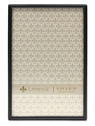 Lawrence Frames 4x6 Simply Black Picture Frame