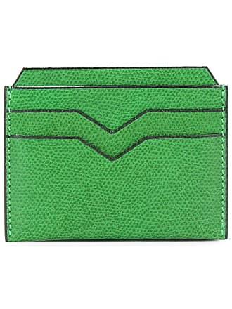 Valextra flat cardholder - Verde
