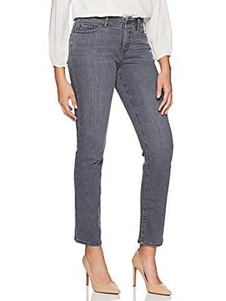 Lee Womens Motion Series Total Freedom Straight Leg Jean, Chrome, 8 Short